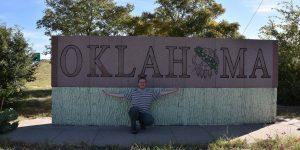 Steintafel bei Oklahoma