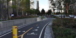 Radweg in New York