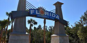 Staatsgrenze zu Florida