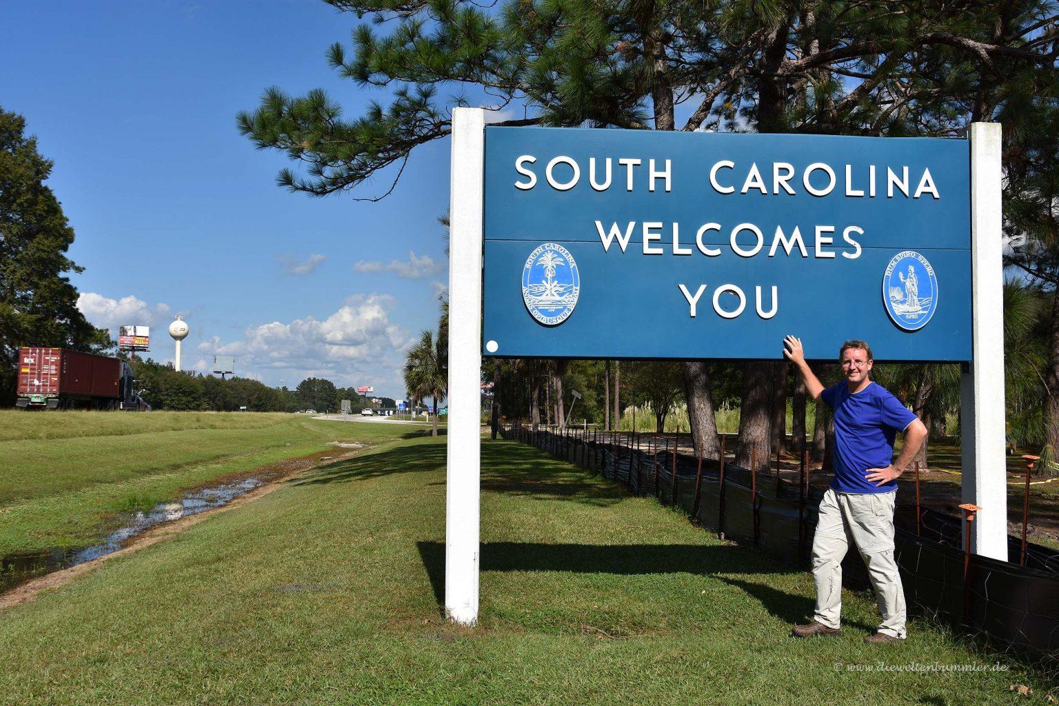 Michael Moll in South Carolina