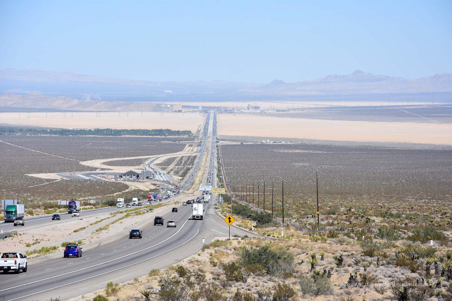 Weite Straße nach Las Vegas
