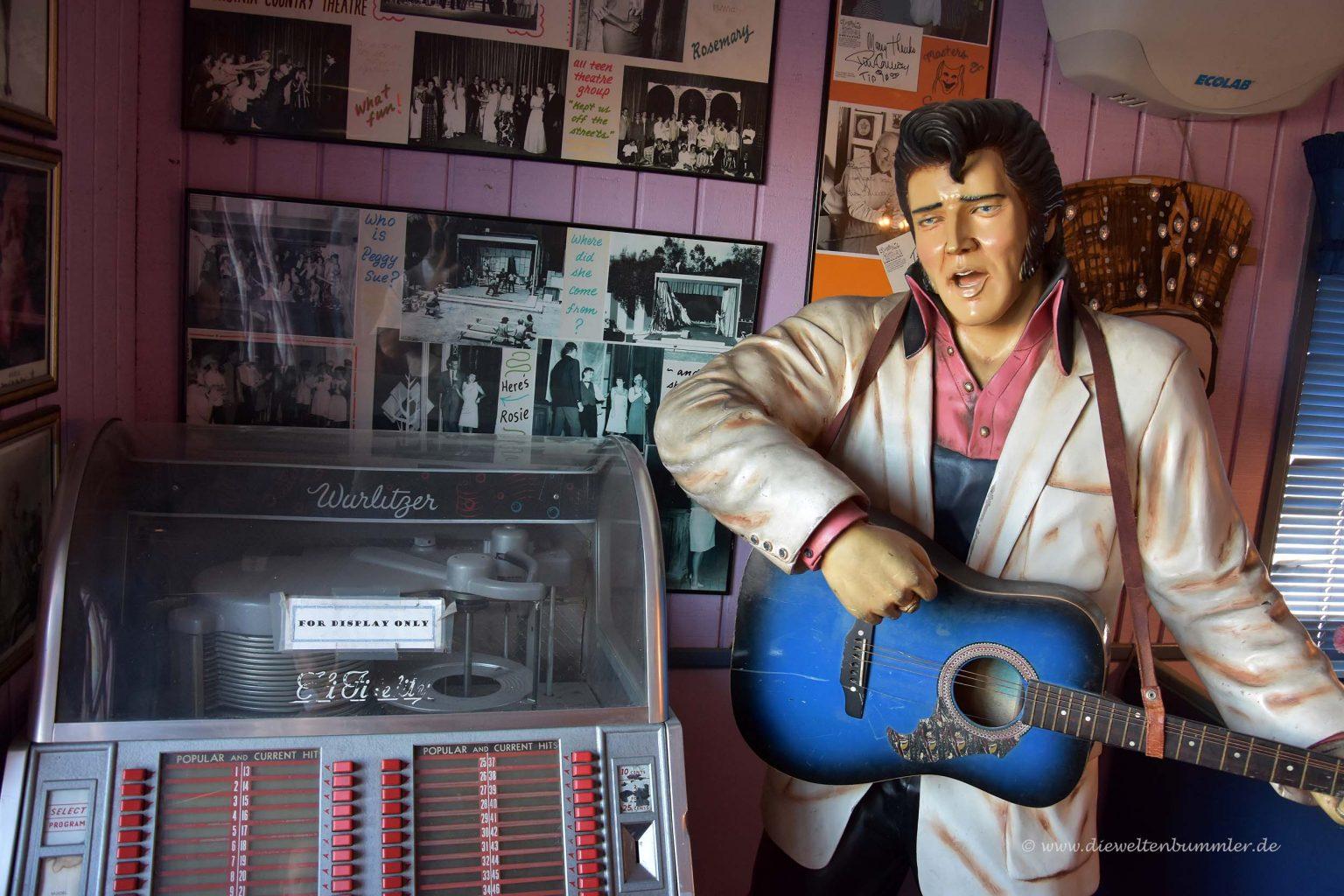 Elvis im Diner