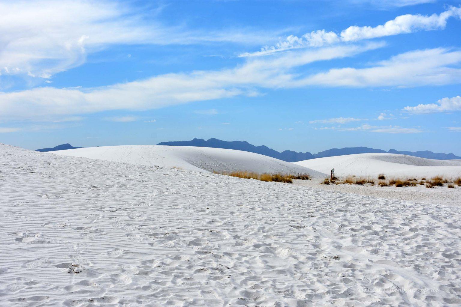 Dünen im White Sands