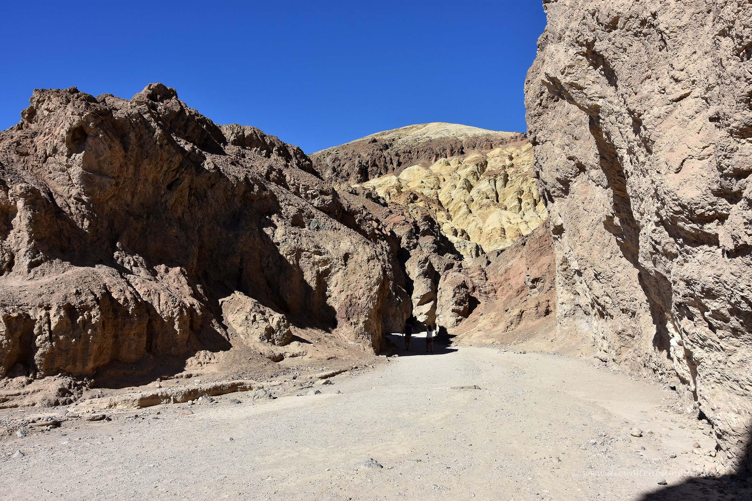 Nebental im Death Valley