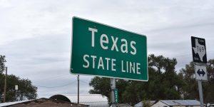 Staatsgrenze zu Texas