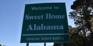 Weiter geht es durch Alabama