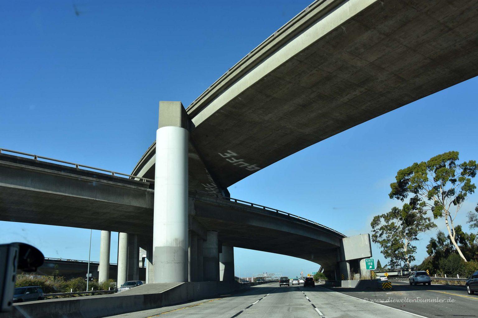 Straße nach San Francisco