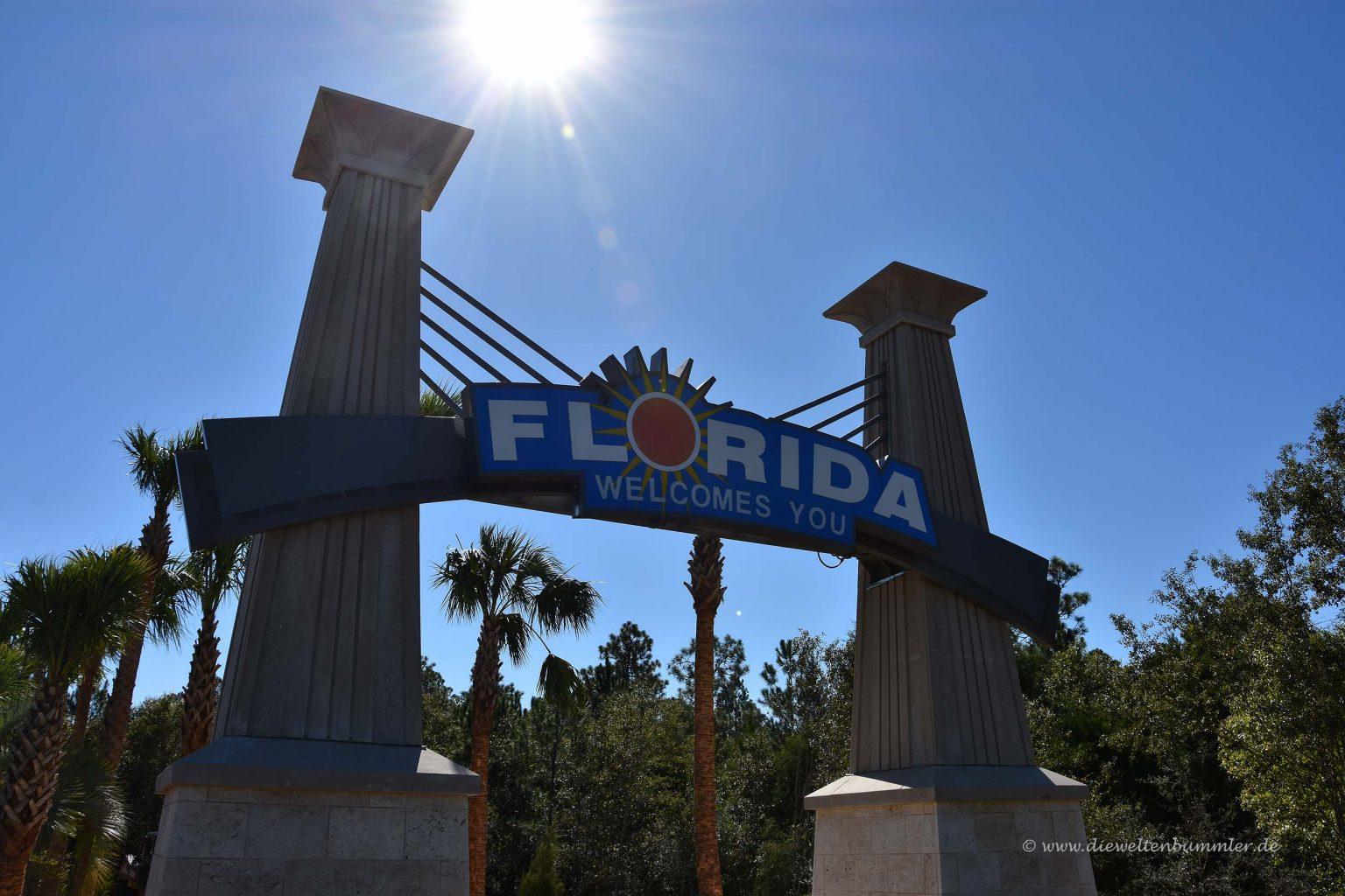 Nach langer Fahrt in Floria
