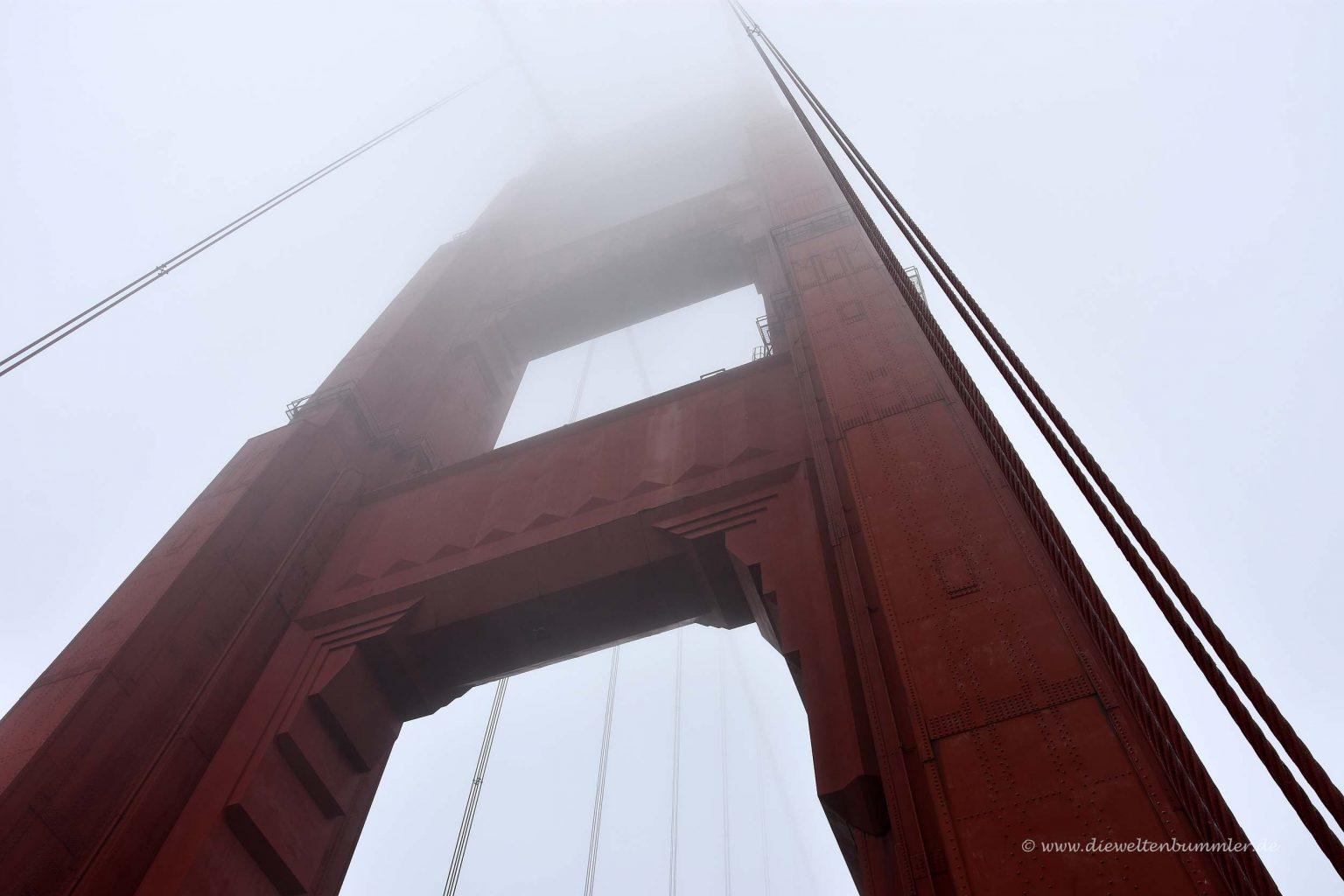Pfeiler der Golden Gate Bridge