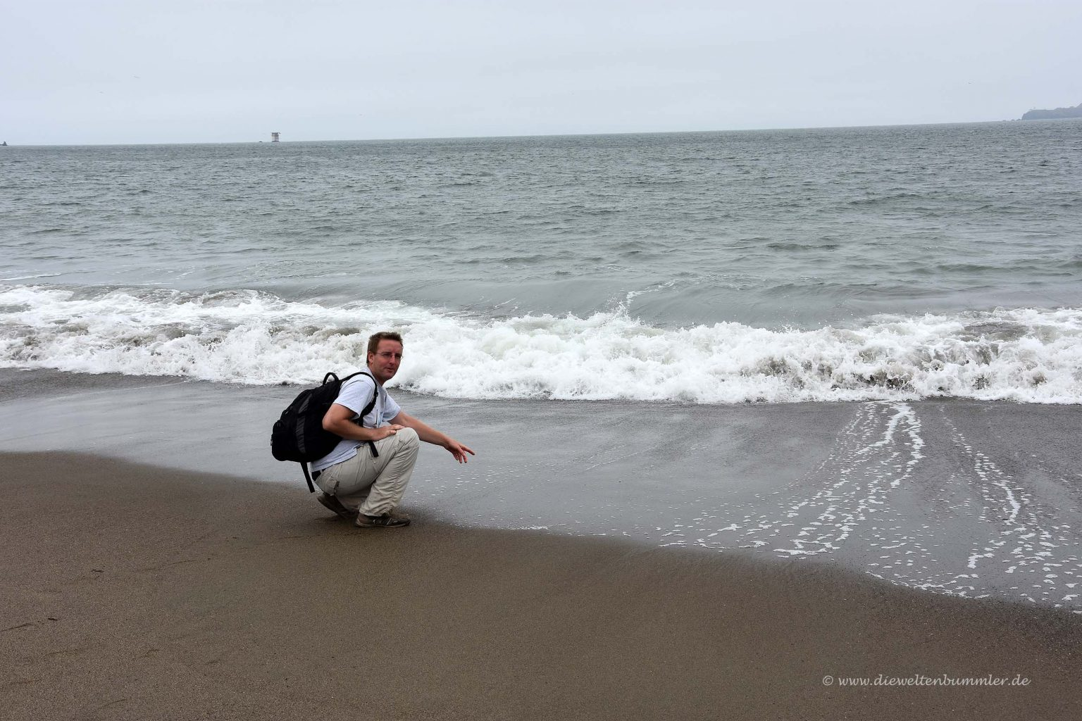 Am Pazifik angekommen