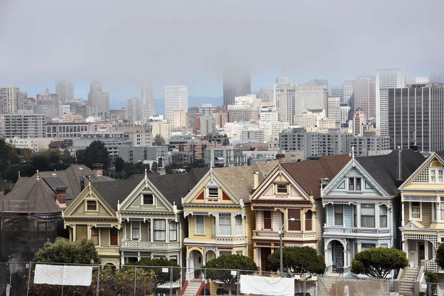 Die Painted Ladies von San Francisco