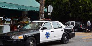 Polizeiwagen in den USA