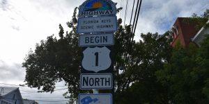 Beginn des Highway 1