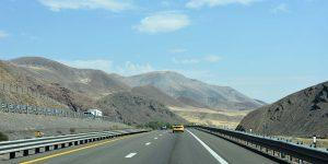 Interstate nach Nevada