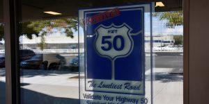 Stempelstelle am Highway 50
