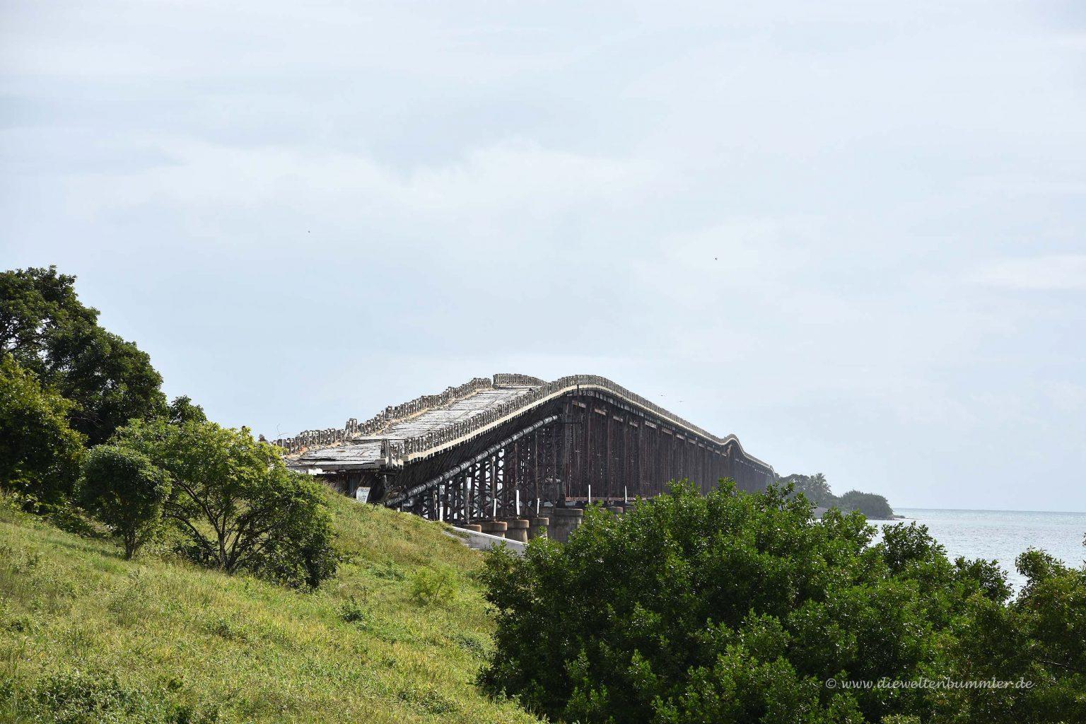 Alte Eisenbahnbrücke auf den Key-Inseln