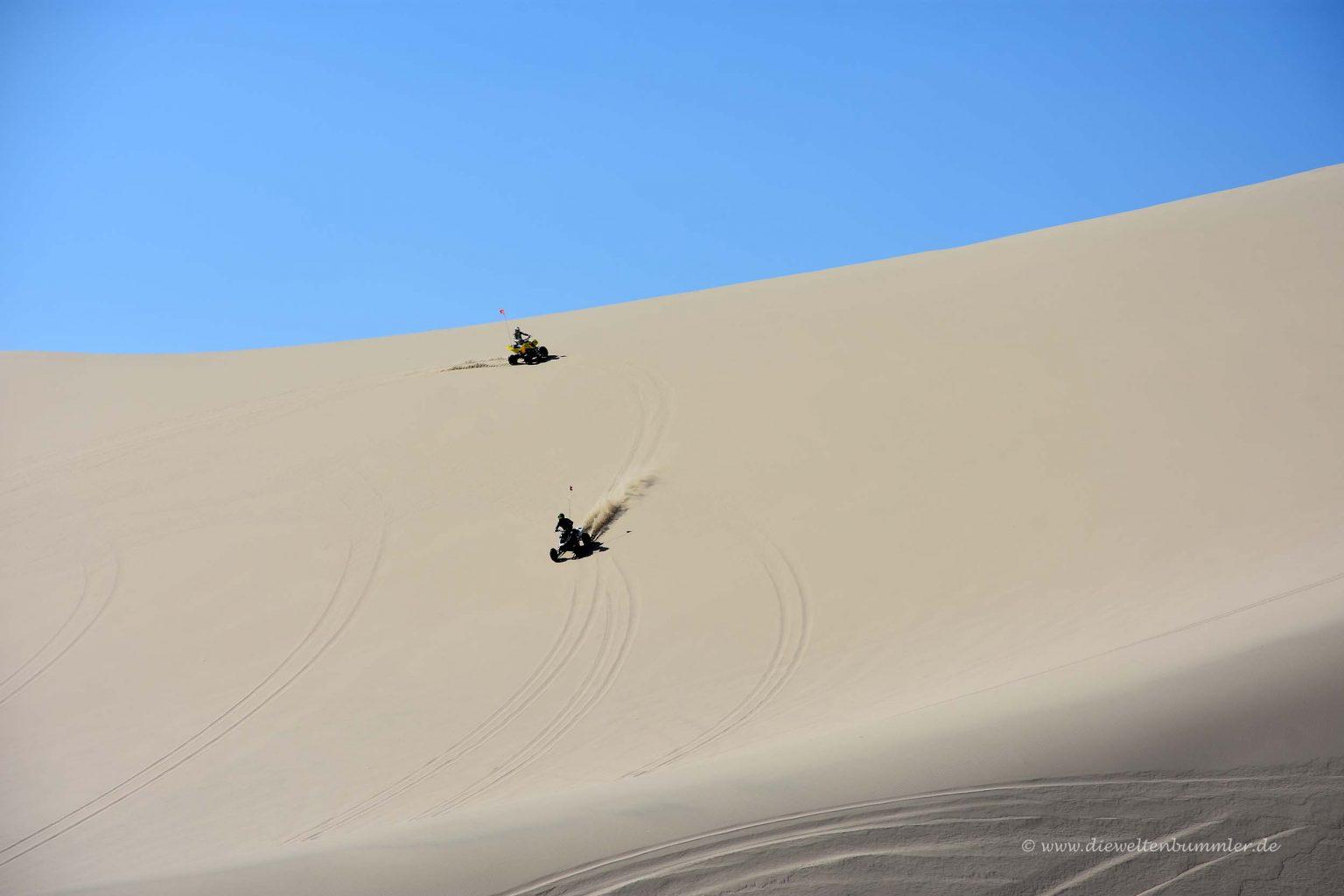 Quad fahren in der Wüste