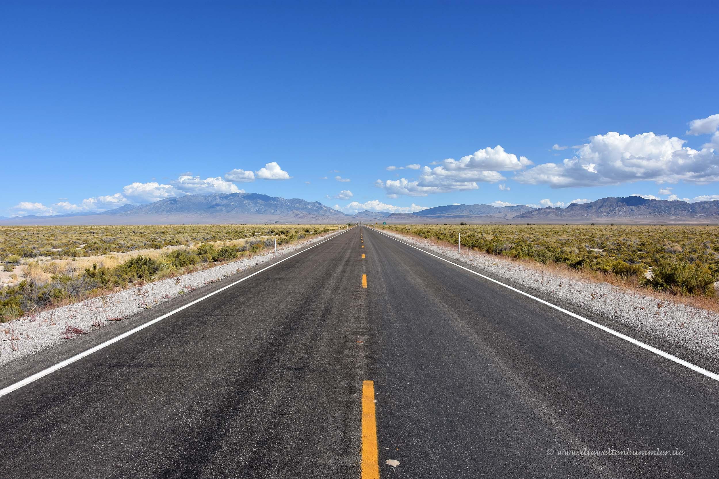 Einsamer Highway