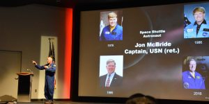 Astronaut Jon Mc Bride