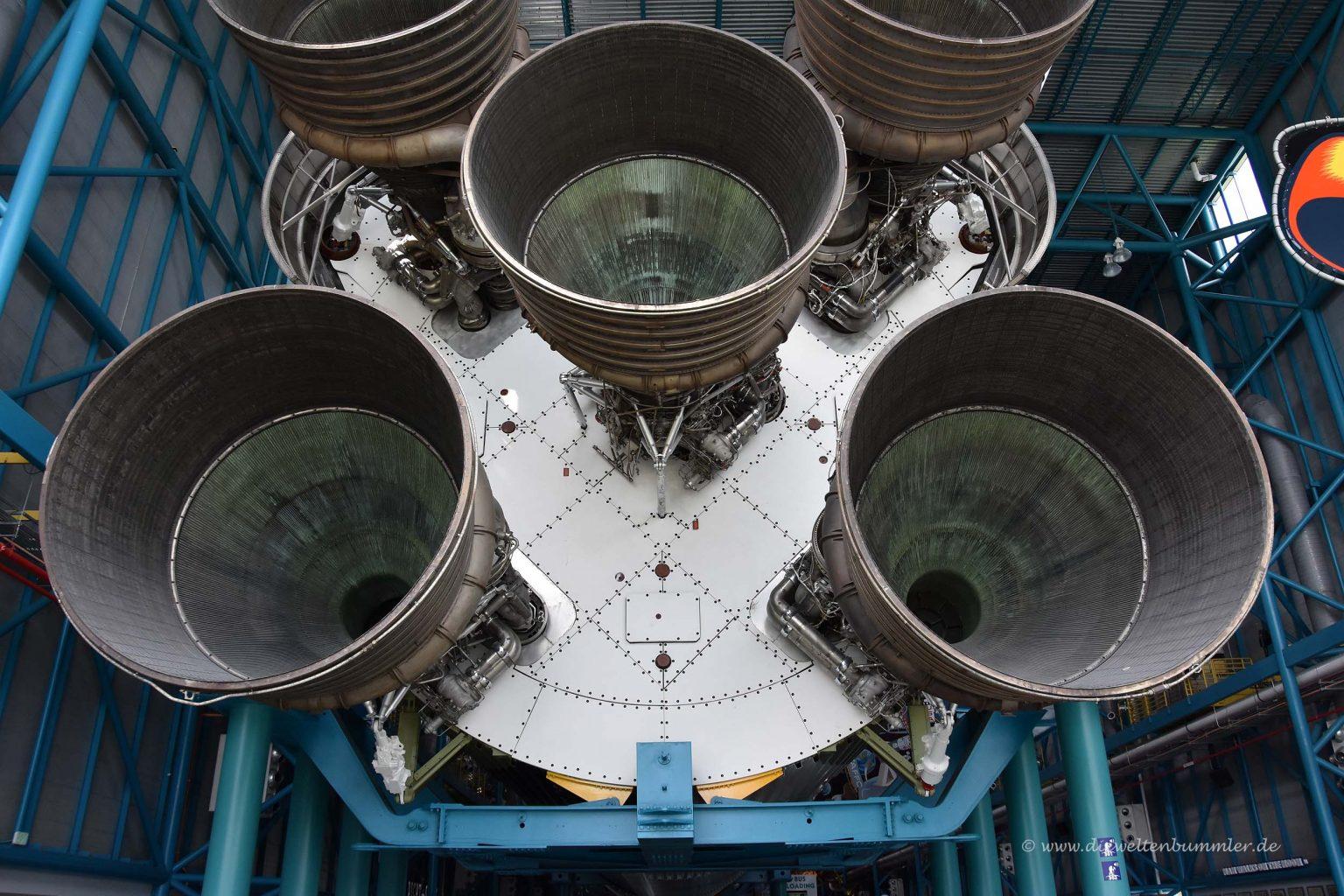 Antrieb der Saturn V