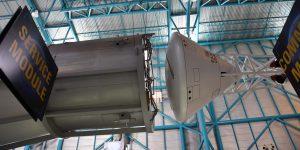 Kommandomodul der Saturn V