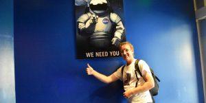 Ich bewerbe mich als Astronaut