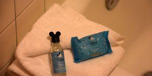 Duschgel mit Maus-Ohren