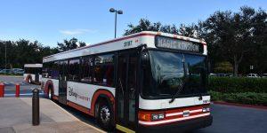 Shuttlebus zu den Parks