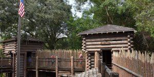 Fort auf der Tom Sawyer Insel