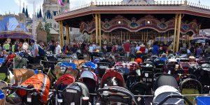 Kinderwagen im Disneyworld