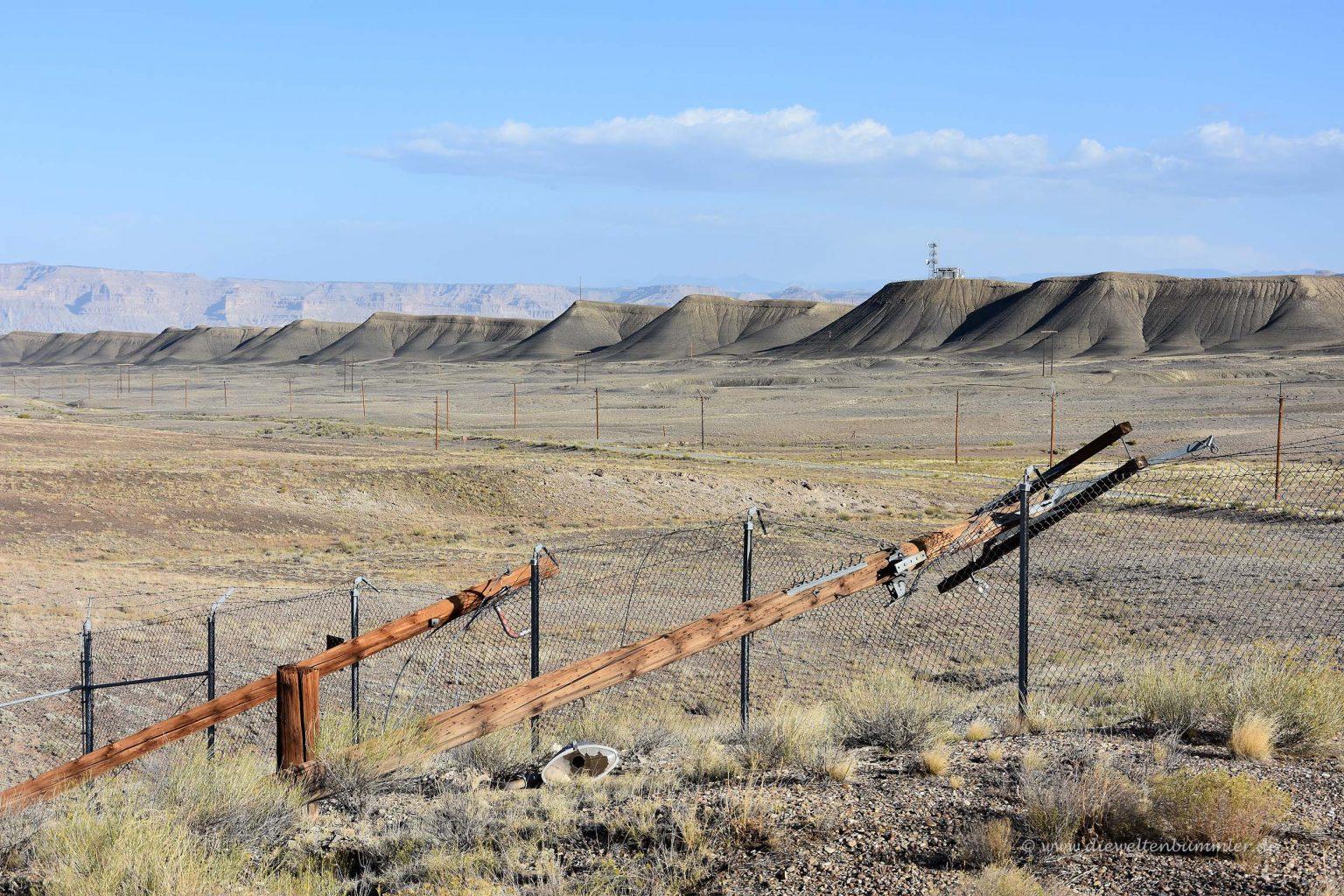 Ehemalige Raketenbasis in Utah