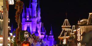Disneyworld am Abend