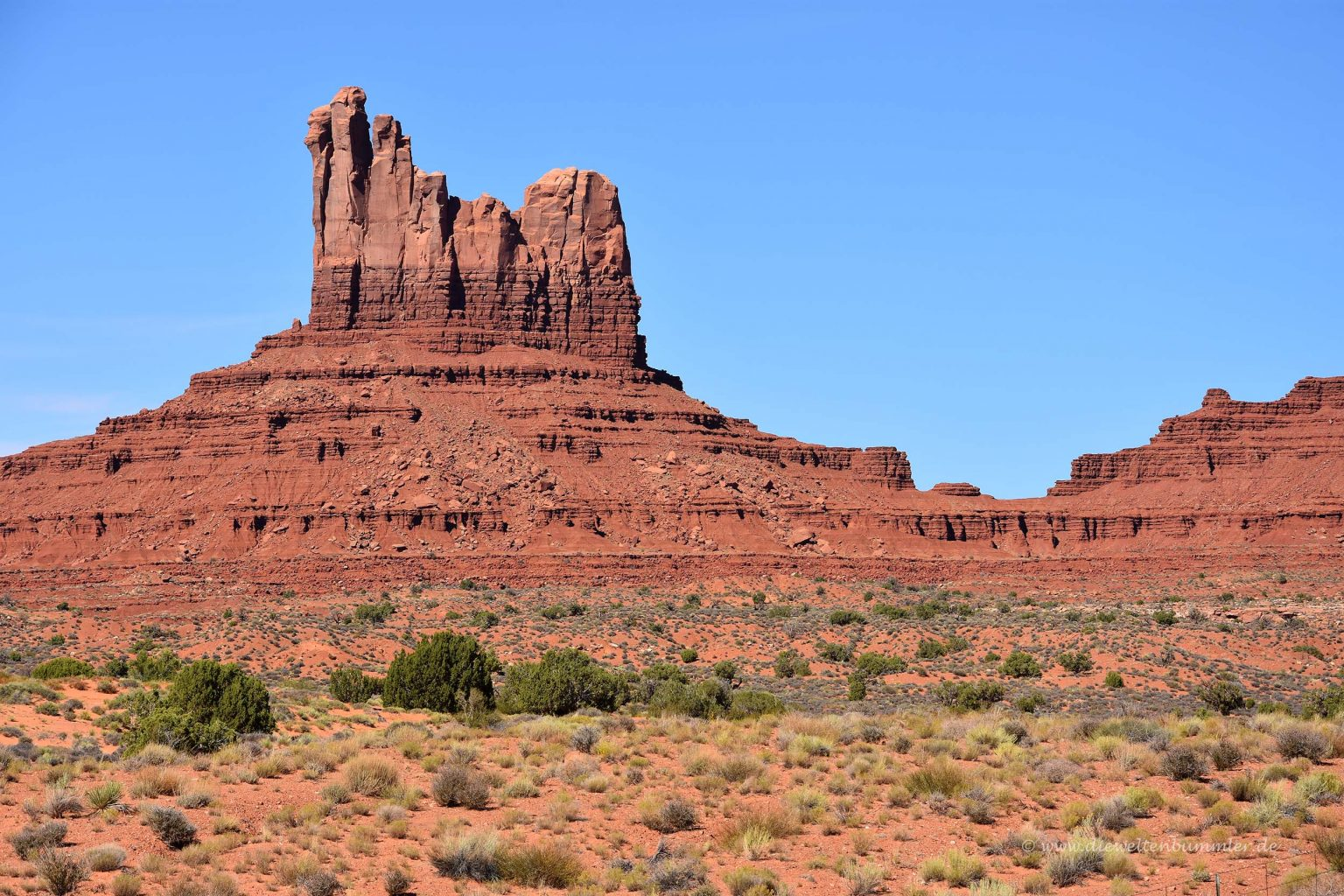 Felsen im Monument Valley