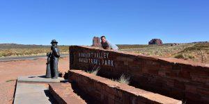 Einfahrt zum Monument Valley