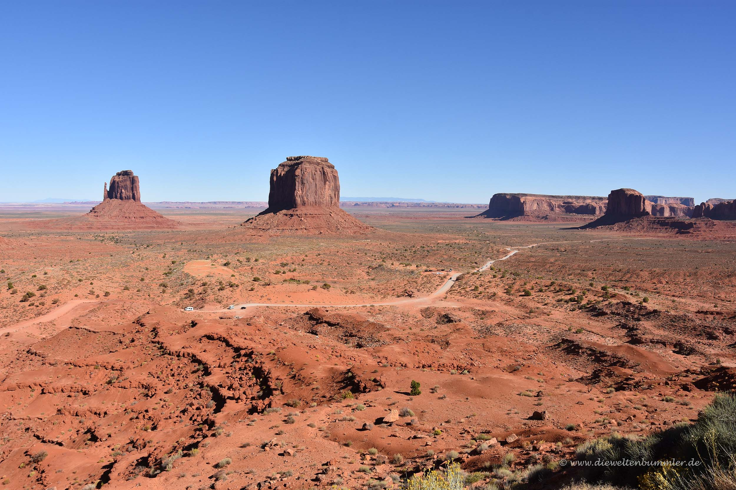 Weites Monument Valley