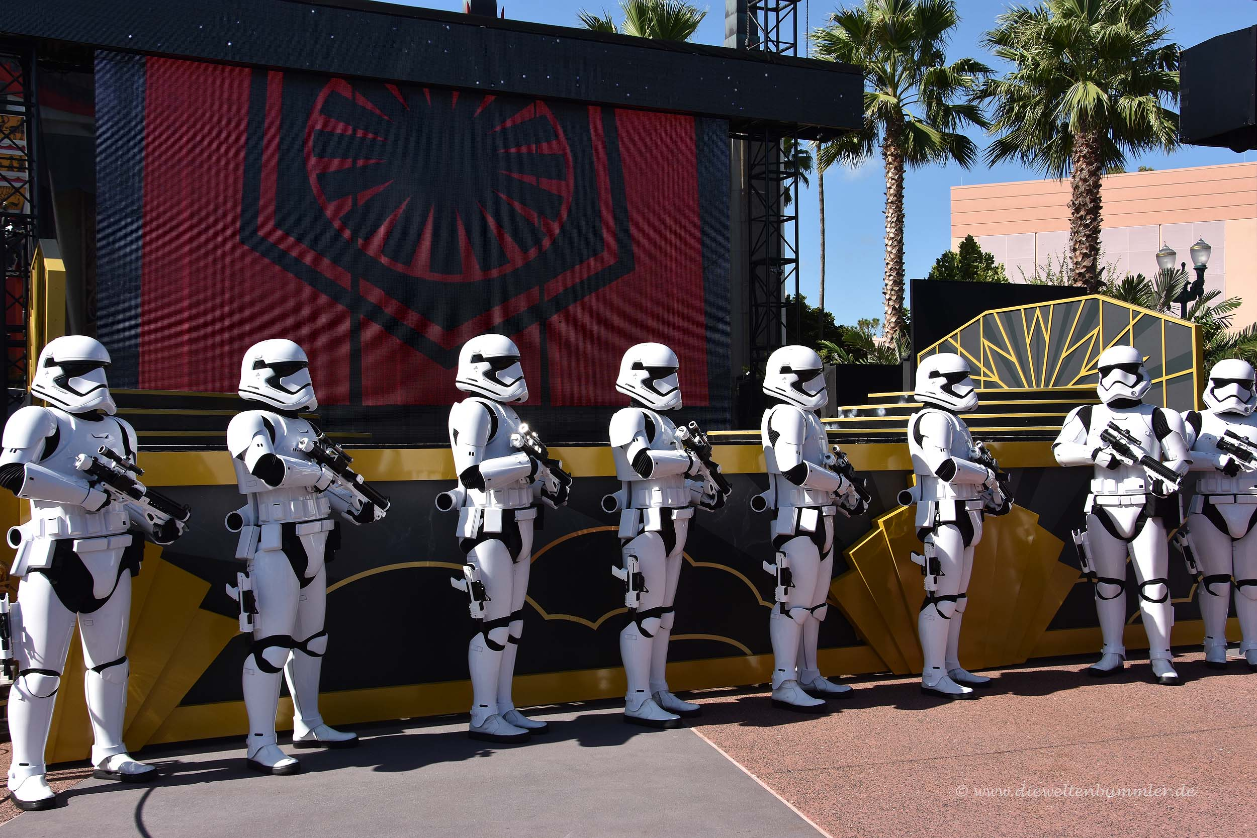 Star Wars in Disney World