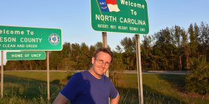 Michael Moll in North Carolina