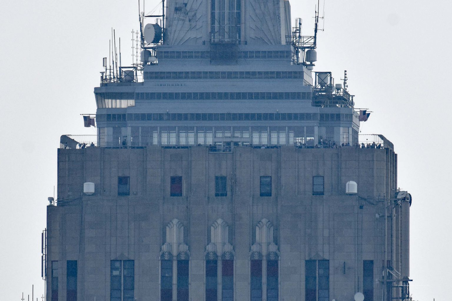 Blick hinüber zum Empire State Building