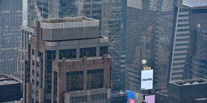 Kugel am Times Square