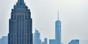 One World Trade Center und Empire State Building