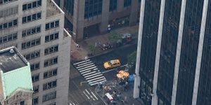 Straßenschlucht von New York