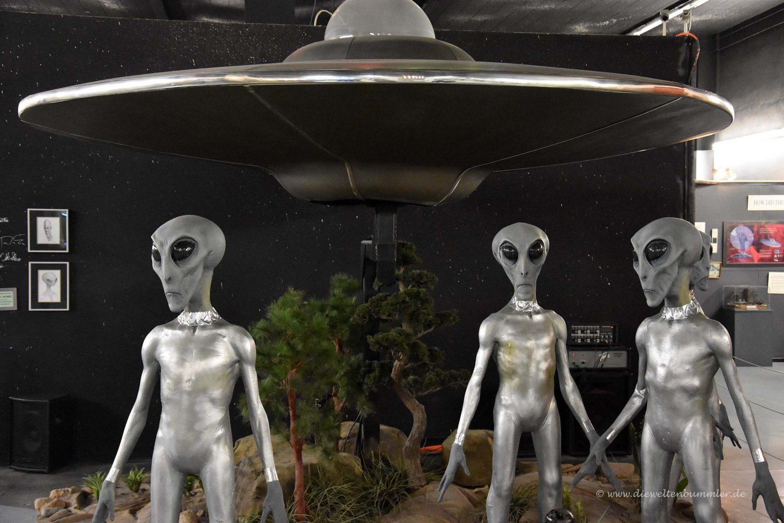 Außerirdische im UFO-Museum