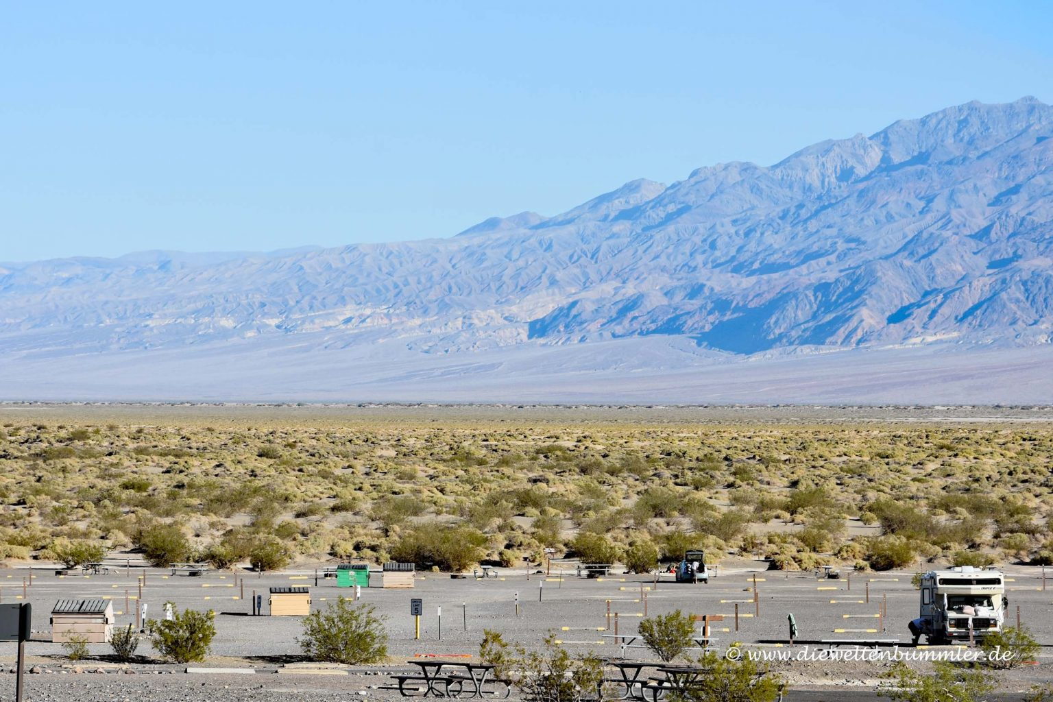 Campingplatz im Death Valley