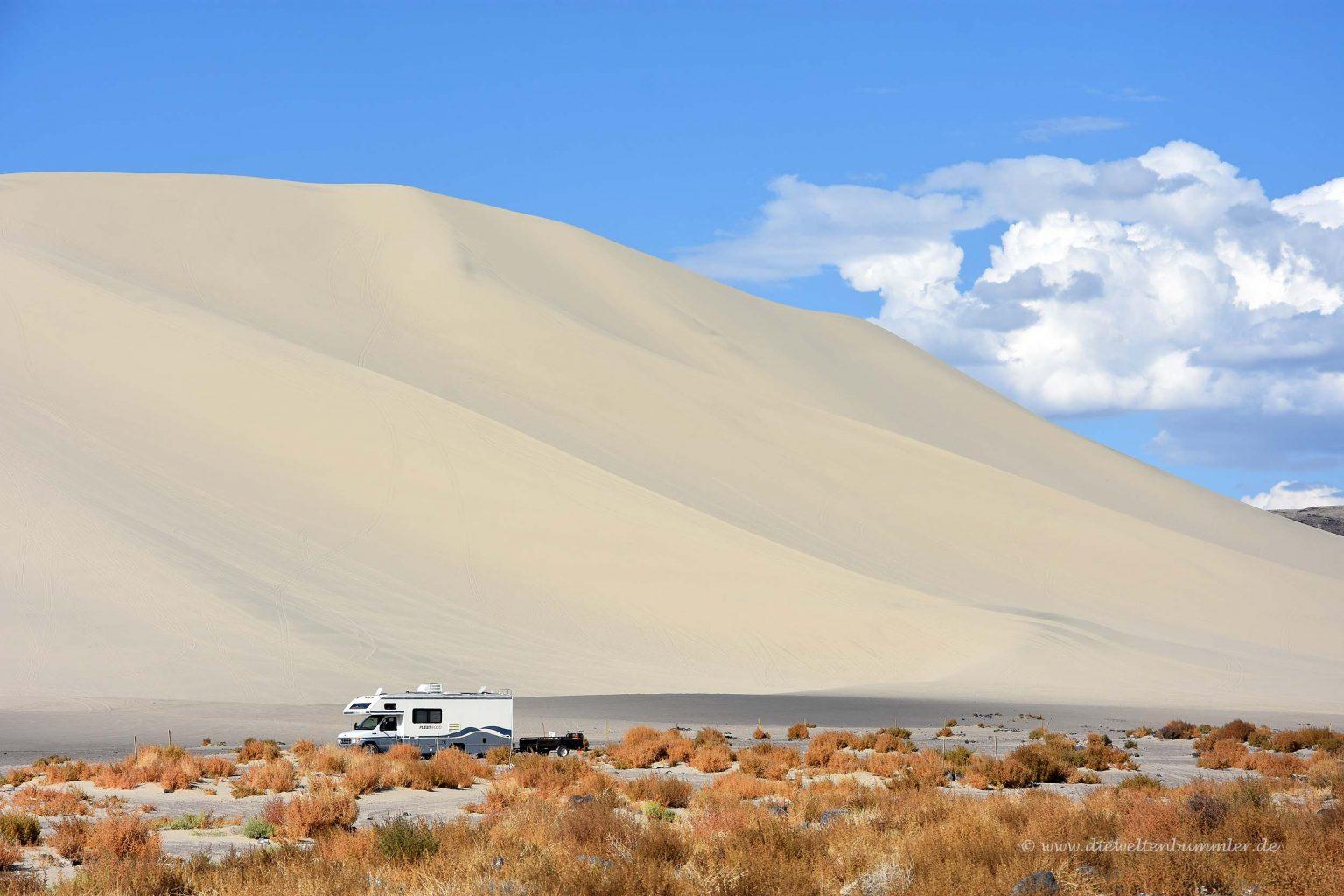 Dünenlandschaft in Nevada