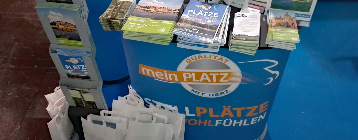 Messestand Mein Platz