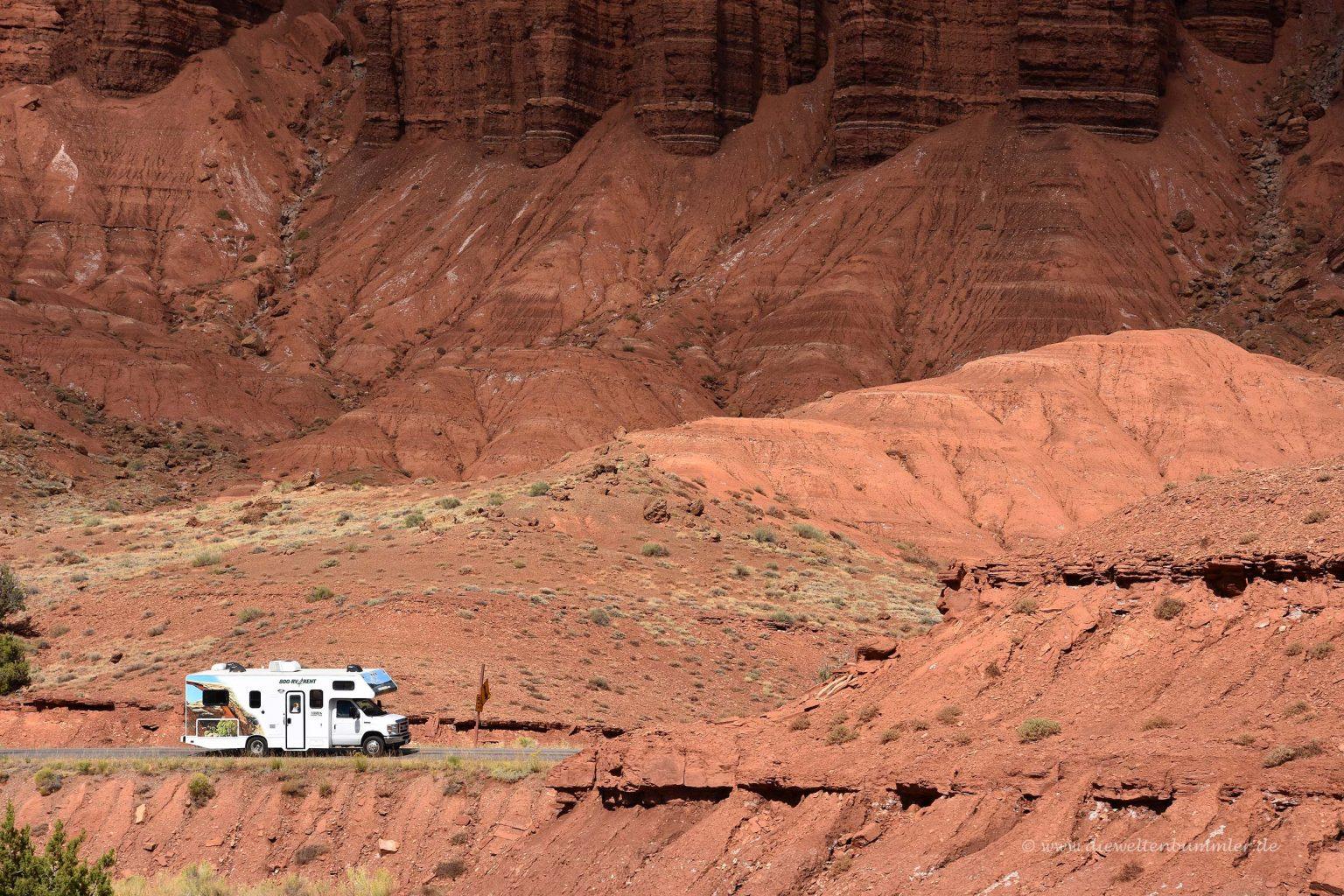 Mietwohnmobil im US-Nationalpark