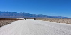 Salz am Badwater Basin