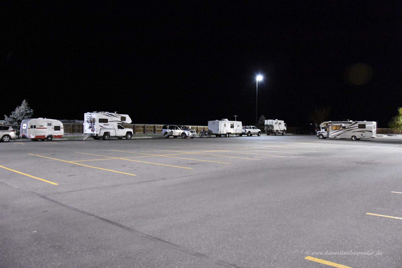 Walmart-Parkplatz