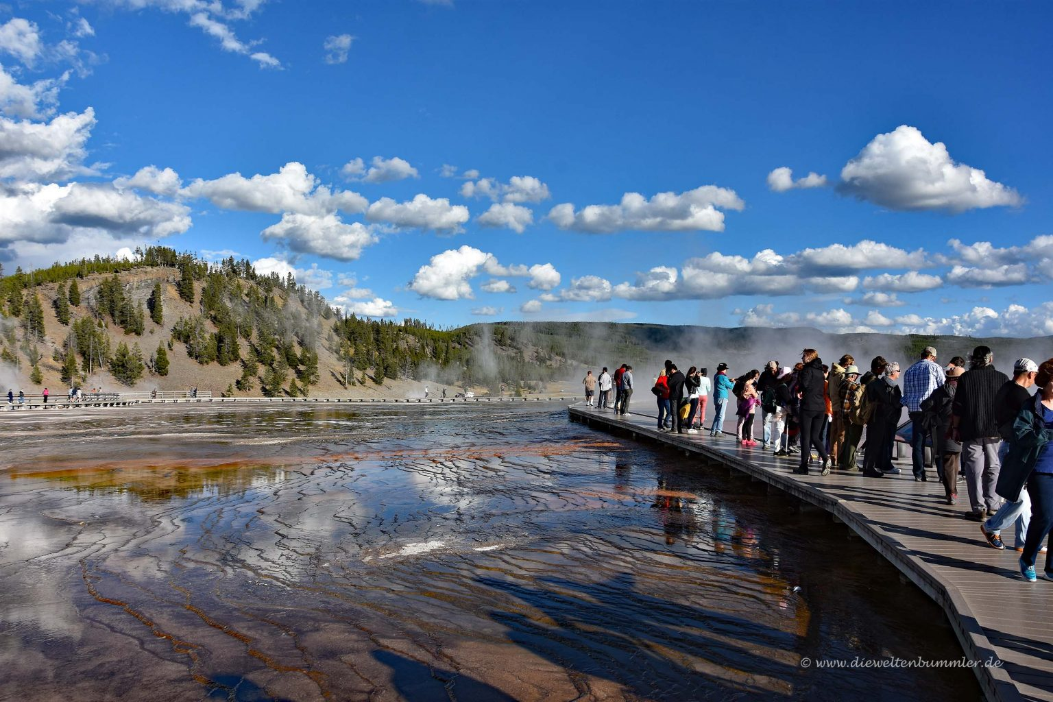 Wandersteg im Yellowstone-Nationalpark
