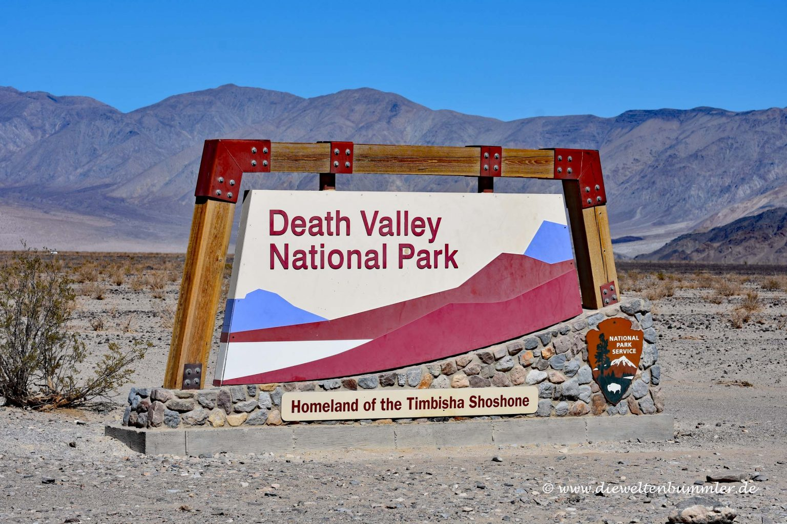 Willkommen im Death Valley Nationalpark